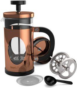 cafetera de cobre
